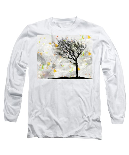 Blowing It The Wind Long Sleeve T-Shirt