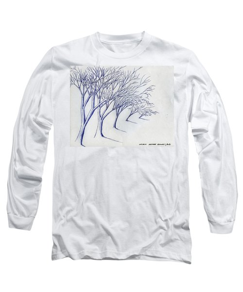 Blowing Trees Long Sleeve T-Shirt
