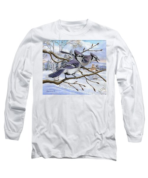 Blue Bandits Winter Afternoon Long Sleeve T-Shirt