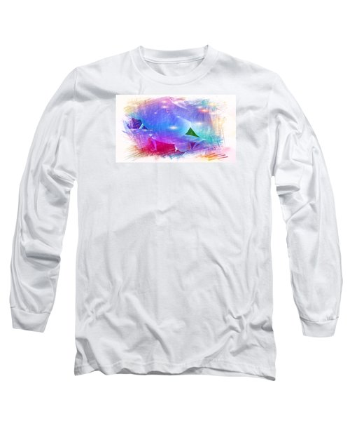 The Blue Petals  Long Sleeve T-Shirt