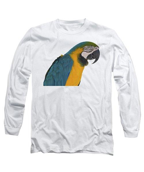 Blue Gold Macaw Long Sleeve T-Shirt