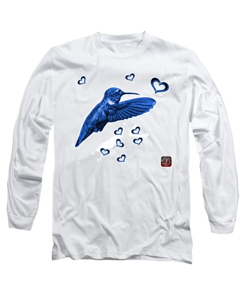 Blue Hummingbird - 2055 F S M Long Sleeve T-Shirt