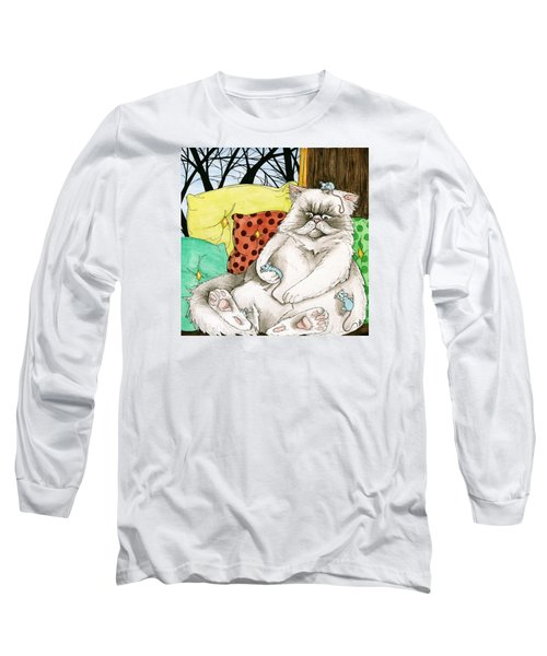 Blue Mice Long Sleeve T-Shirt