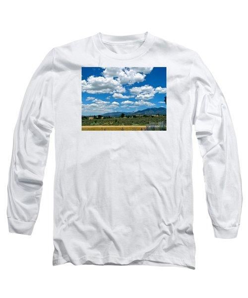 Blue Mountain Skies Long Sleeve T-Shirt