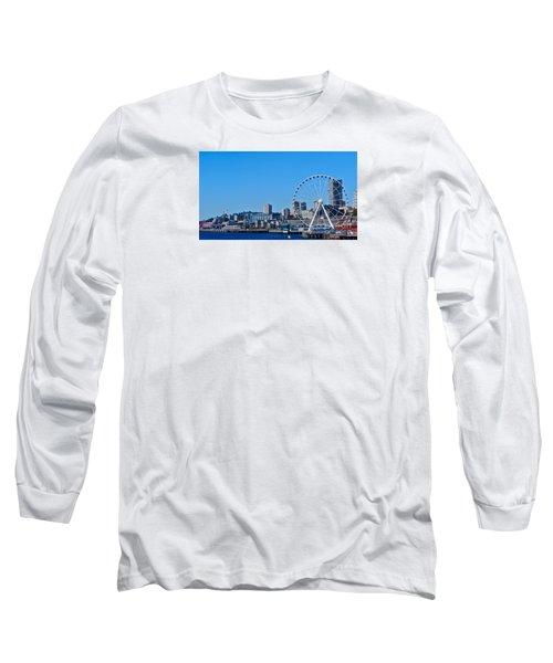 Blue Pier  Long Sleeve T-Shirt