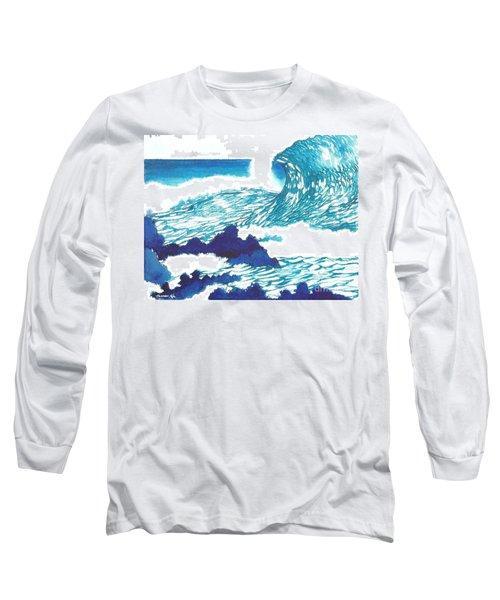 Blue Roar Long Sleeve T-Shirt