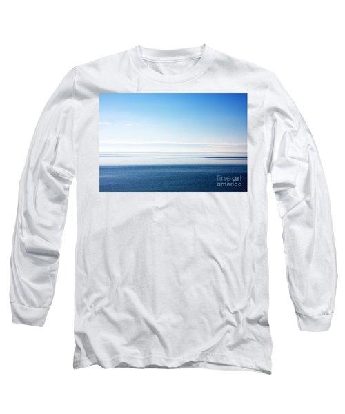 Blue Sea Scene Long Sleeve T-Shirt