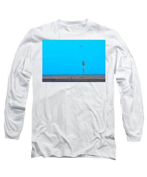 Blue Wall Parking Long Sleeve T-Shirt