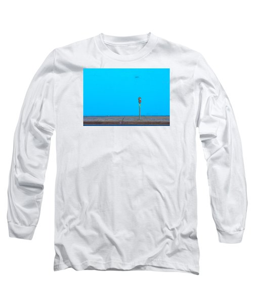 Blue Wall Parking Long Sleeve T-Shirt