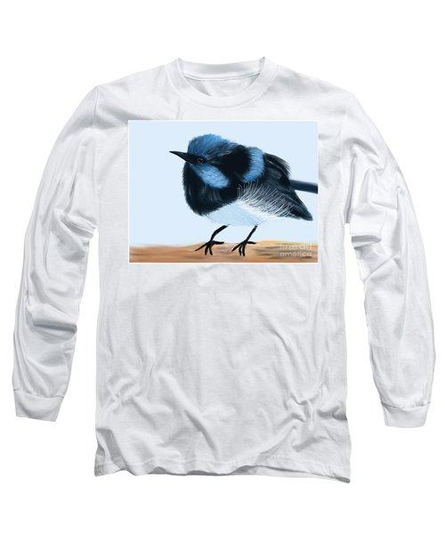 Blue Wren Beauty Long Sleeve T-Shirt