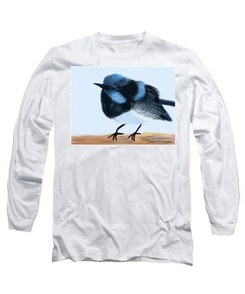 Blue Wren Beauty Long Sleeve T-Shirt