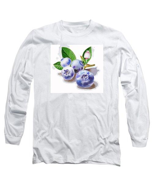 Artz Vitamins The Blueberries Long Sleeve T-Shirt