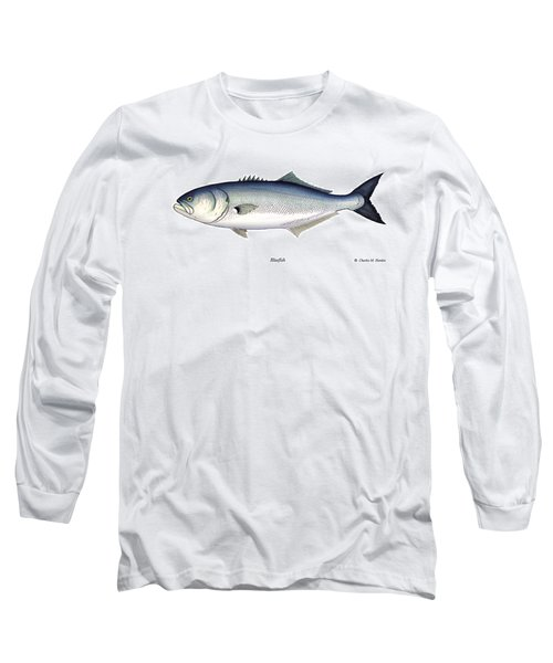 Bluefish Long Sleeve T-Shirt by Charles Harden