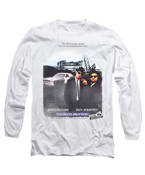 Blues Brothers - Distressed Poster Long Sleeve T-Shirt