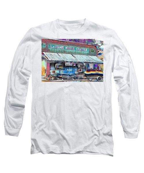 Blues Club In Clarksdale Long Sleeve T-Shirt