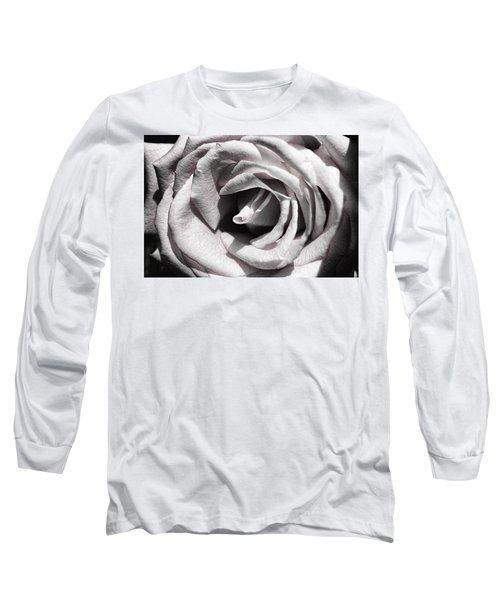 Blushing Rose Long Sleeve T-Shirt