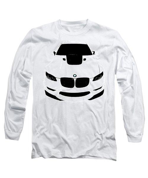 Bmw White Long Sleeve T-Shirt