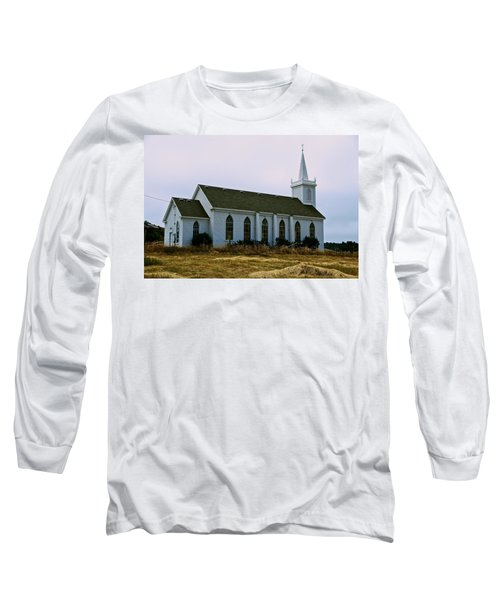 Bodega Church Long Sleeve T-Shirt by Eric Tressler
