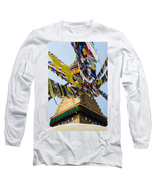 Bodhnath  Long Sleeve T-Shirt