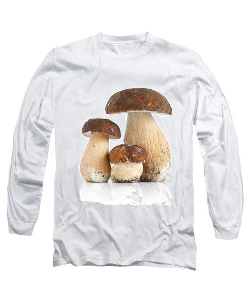 Long Sleeve T-Shirt featuring the photograph Boletus Edulis Var. Aereus by Antonio Scarpi
