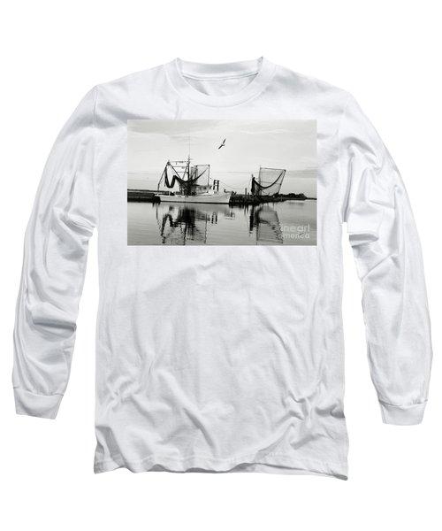 Bon Temps Long Sleeve T-Shirt by Scott Pellegrin