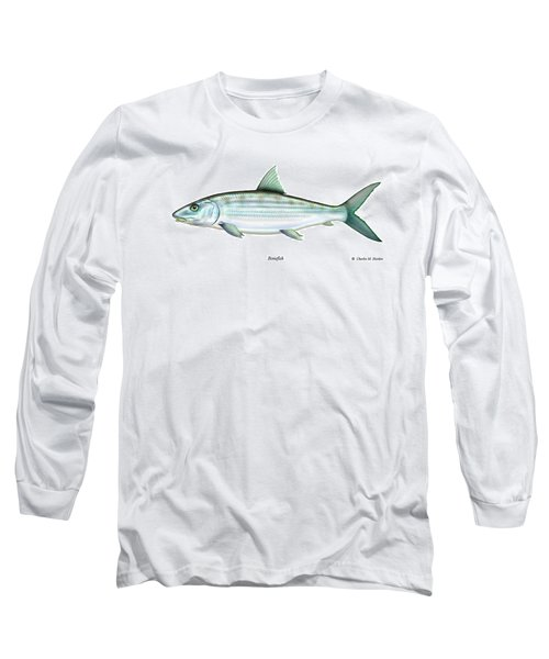 Bonefish Long Sleeve T-Shirt by Charles Harden