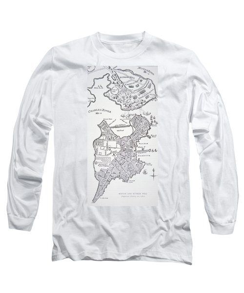 Boston And Bunker Hill 1781 Long Sleeve T-Shirt