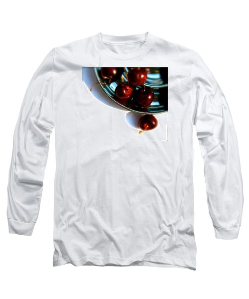 Bowl Of Cherries Long Sleeve T-Shirt by Tracy Male