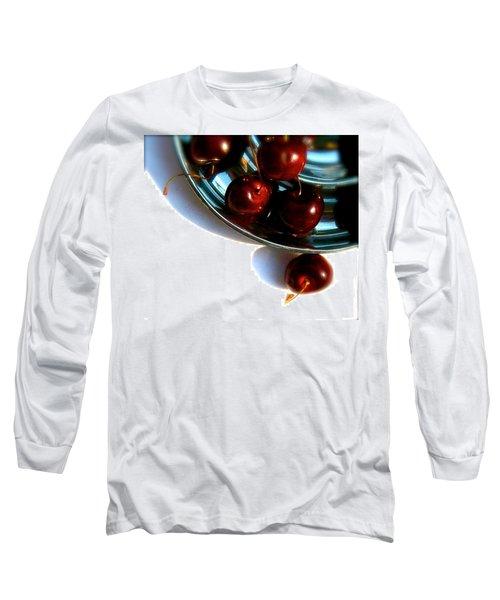 Bowl Of Cherries Long Sleeve T-Shirt