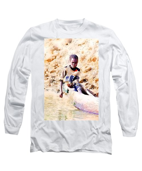 Boy In The Boat Long Sleeve T-Shirt