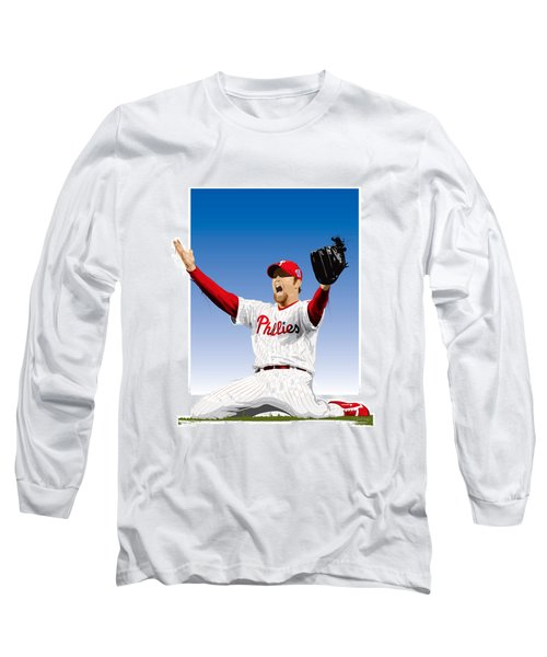 Brad Lidge Champion Long Sleeve T-Shirt