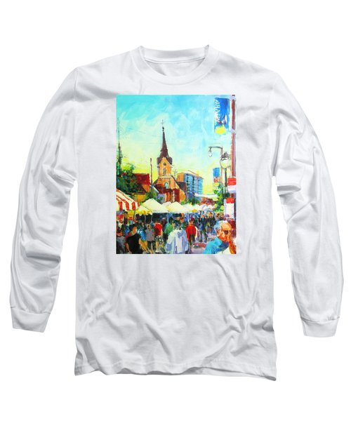 Brady Street Long Sleeve T-Shirt by Les Leffingwell