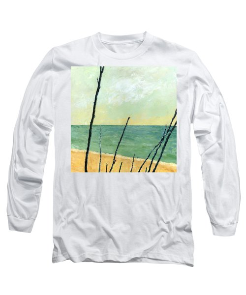 Branches On The Beach - Oil Long Sleeve T-Shirt
