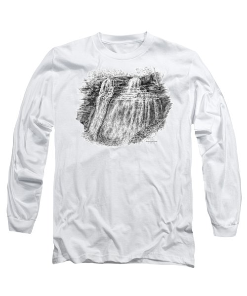 Brandywine Falls - Cuyahoga Valley National Park Long Sleeve T-Shirt by Kelli Swan