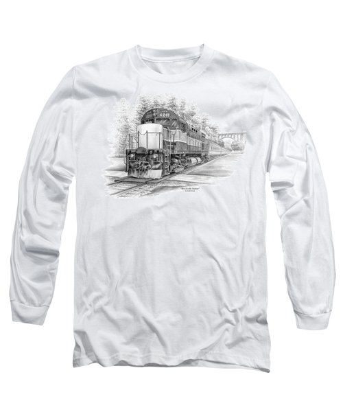 Brecksville Station - Cuyahoga Valley National Park Long Sleeve T-Shirt by Kelli Swan