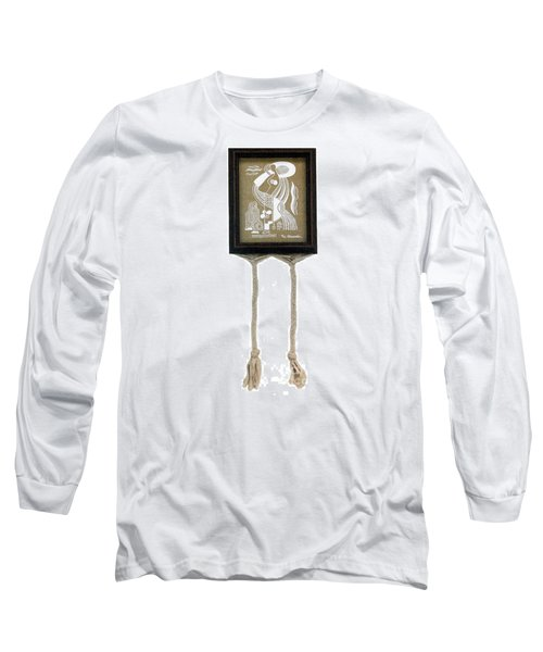 Long Sleeve T-Shirt featuring the painting Breeze by Fei A
