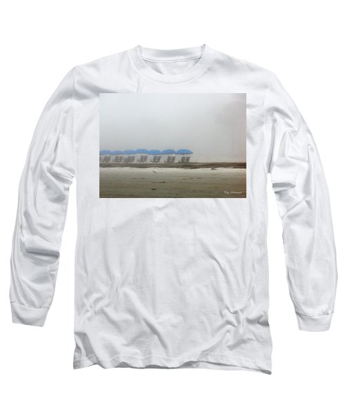 'brella Pattern Long Sleeve T-Shirt