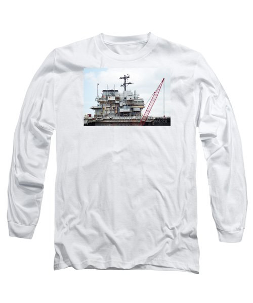 Uss Forrestal Bridge Long Sleeve T-Shirt