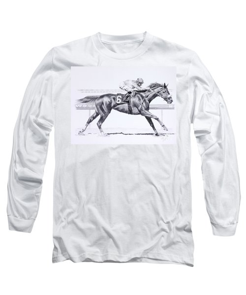 Bring On The Race Zenyatta Long Sleeve T-Shirt