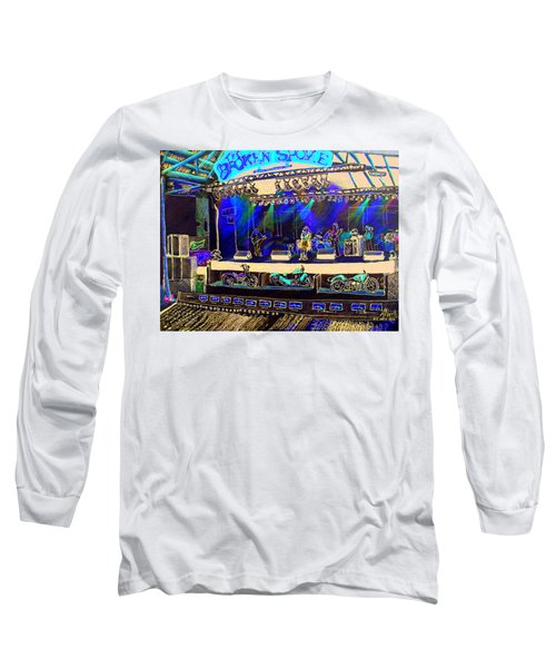 Broadband At The Broken Spoke Saloon Long Sleeve T-Shirt