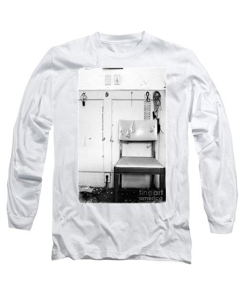 Broken Chair Long Sleeve T-Shirt by Carsten Reisinger