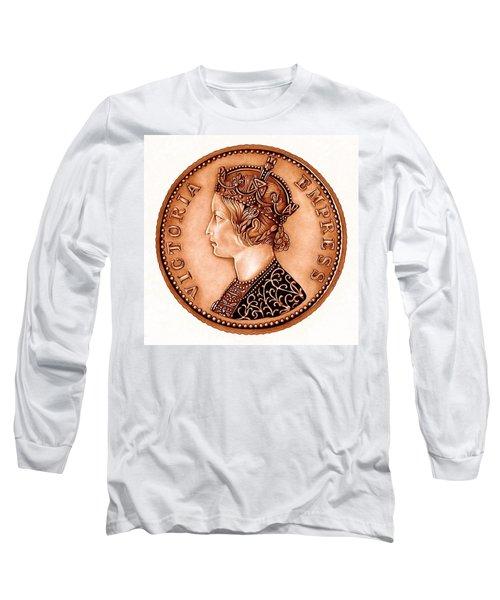 Bronze Empress Victoria Long Sleeve T-Shirt