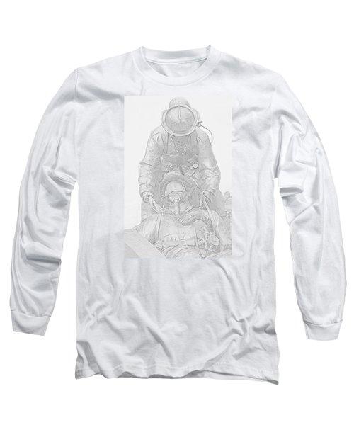 Brothers Long Sleeve T-Shirt by Susan  McMenamin