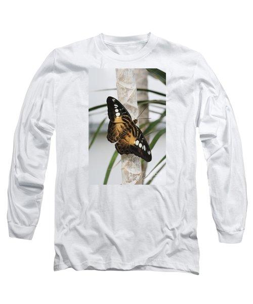 Brown Clipper Butterfly #2 Long Sleeve T-Shirt