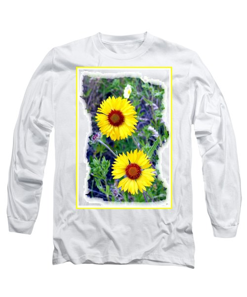 Brown- Eyed Susans Long Sleeve T-Shirt