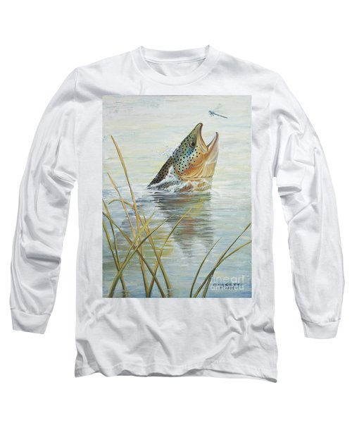 Brown Takes Damsel  Long Sleeve T-Shirt
