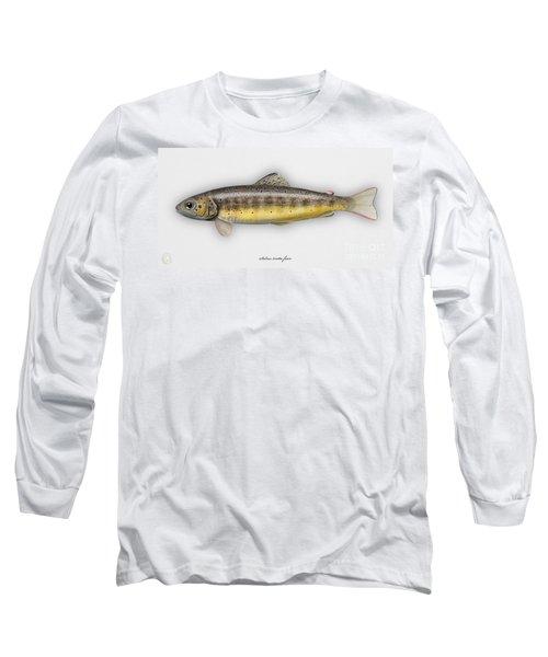 Brown Trout - Salmo Trutta Morpha Fario - Salmo Trutta Fario - Game Fish - Flyfishing Long Sleeve T-Shirt