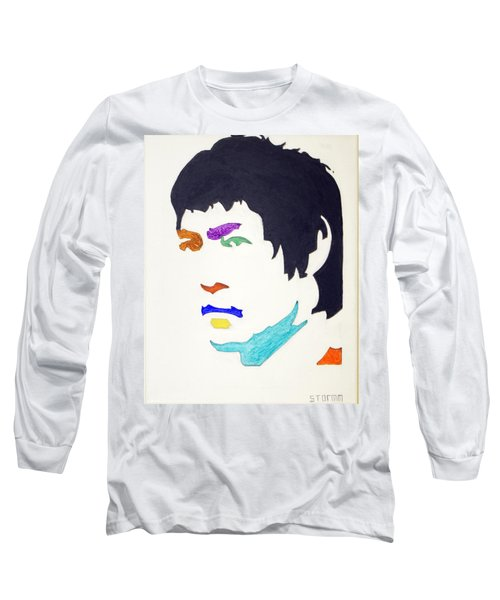 Long Sleeve T-Shirt featuring the  Bruce Lee by Stormm Bradshaw