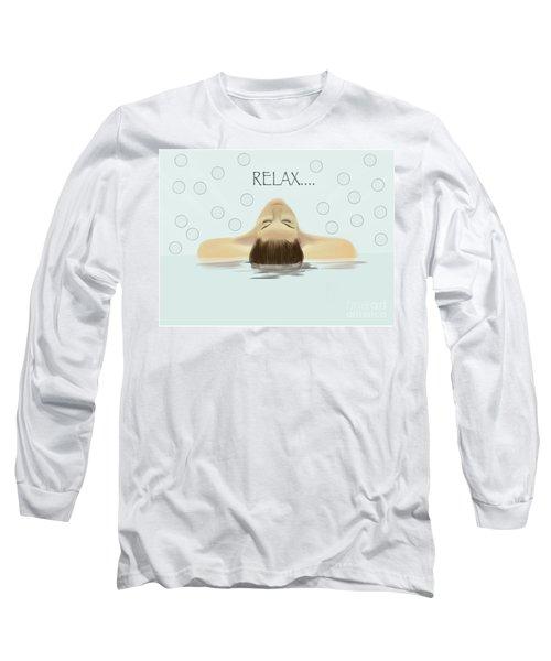 Bubble Bath Luxury Long Sleeve T-Shirt