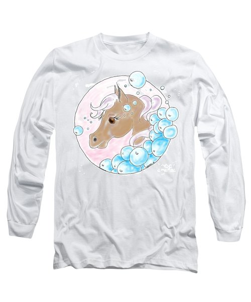 Bubbles Profile Long Sleeve T-Shirt